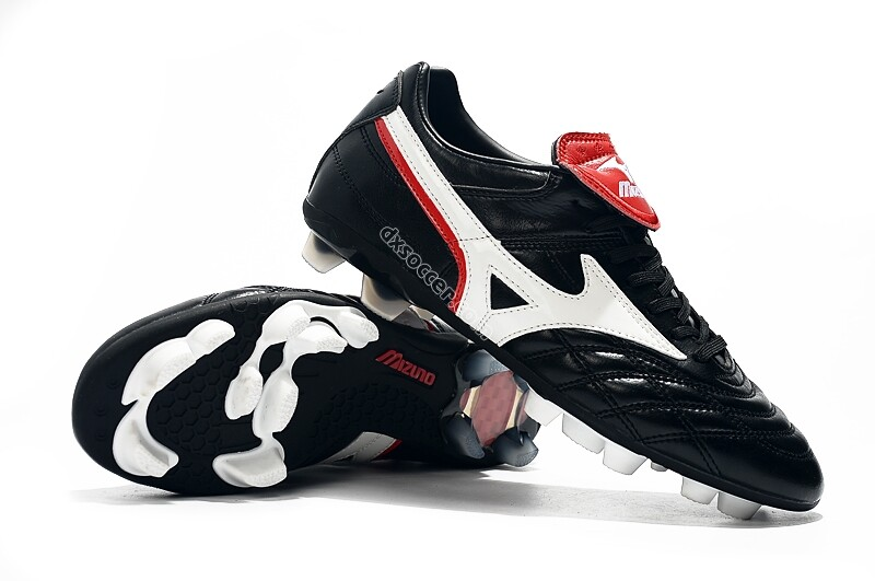 Mizuno Morelia II Made in Japan FG Wave Cup Legend - Black/White/Red