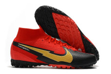 Nike Mercurial Superfly 7 Elite MDS TF - Red/Black/Gold