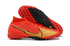 Nike Mercurial Superfly 7 Elite TF - Red/Gold/Black